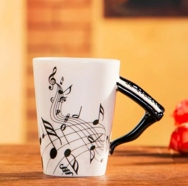 Musical Instruments Style Novelty Ceramic Mugs 14