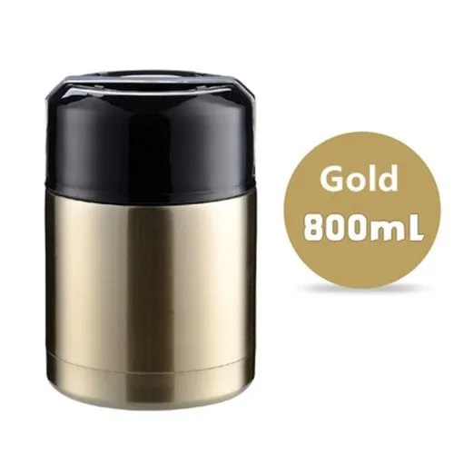 Double Stainless Steel Thermos Food Containers Lunch Box 12
