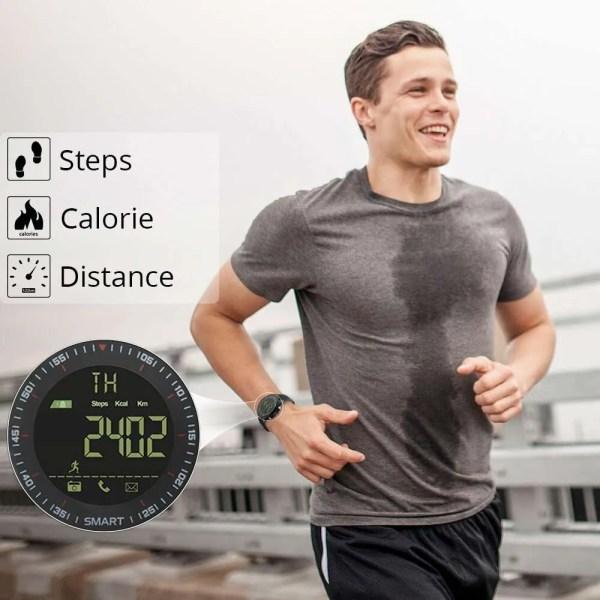 Smart Watch Waterproof IP68 with 5ATM Passometer Message Reminder 3