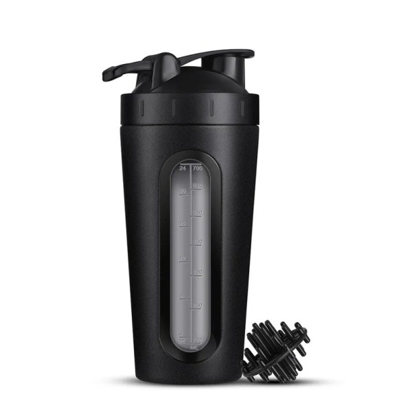 Durable Stainless Steel 700 ml Protein Shaker Water Bottle 9