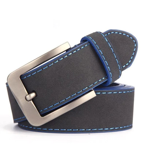2019 Fashion Leather Belt for Men Italian Design 1