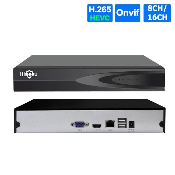 Hiseeu  P2P 8CH 16CH CCTV NVR Camera Video Recorder 1