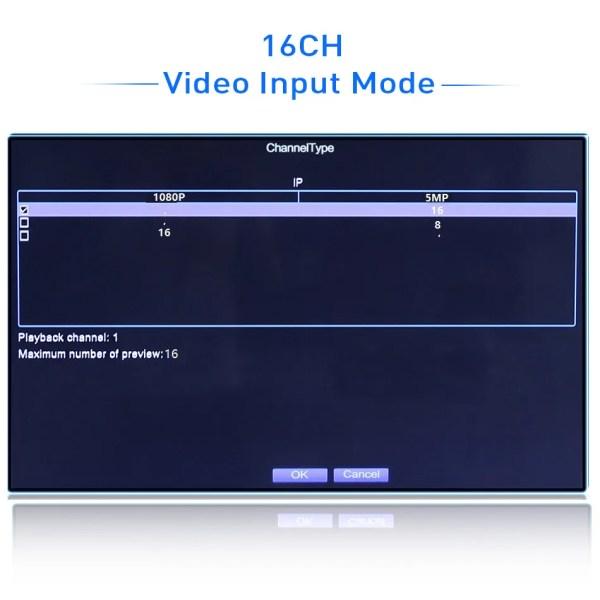 Hiseeu  P2P 8CH 16CH CCTV NVR Camera Video Recorder 4
