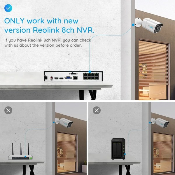 Reolink 4K IP Nightvision PoE 8MP Outdoor Security Camera 3