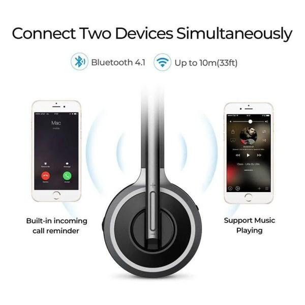 Bluetooth 4.1 Wireless Over-Head Noise Canceling Headphones 3