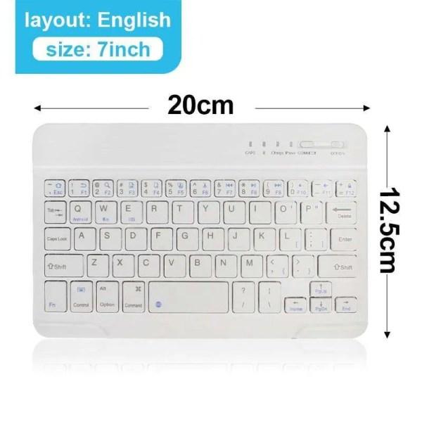 Mini Wireless Bluetooth Rechargeable Keyboard 11