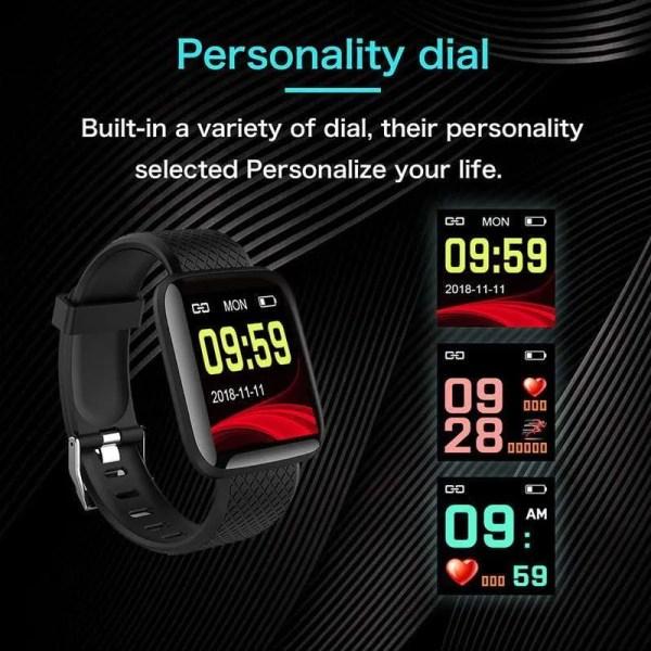 Men and Women Smartwatch Fitness Tracker Bracelet 1