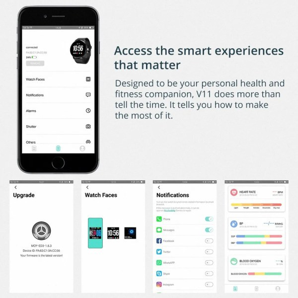 COLMI V11 Smartwatch IP67 Waterproof Fitness Tracker 5