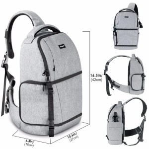 DSLR Sling Camera Backpack Bag