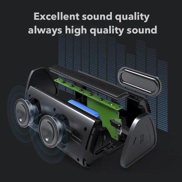 Bluetooth Portable Wireless 10W Loudspeaker Sound System 2