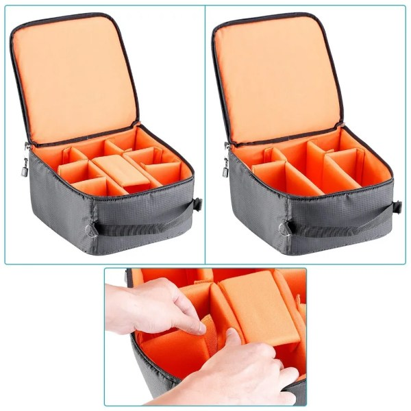 Flexible Partition Camera Padded Bag 5