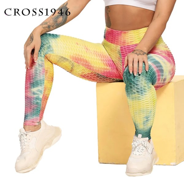 Sport Print Leggings Pants Women Yoga Pants Women Leggings Running Trousers Tights Gym Training Legging Sports Fitness Leggings