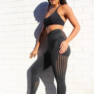 Women High Waist  Seamless Leggings Gym Tights