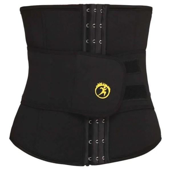 LANFEI Mens Thermo Neoprene Body Shaper Waist Trainer Belt Slimming Corset Waist Support Sweat Cinchers Underwear Modeling Strap