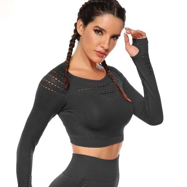 Women's Seamless Long Sleeve Sport Top