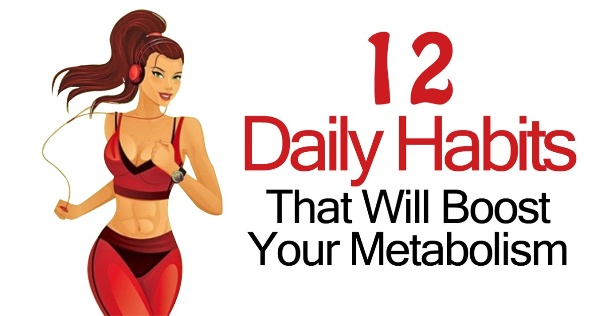 12 Daily Habits People Over 40 Should Do That Will Burn Fat, Increase Energy, and Boost Metabolism