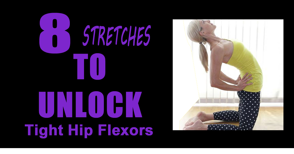 8 Yoga Stretches To Unlock Your Tight Hip Flexors
