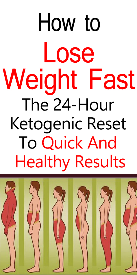 How to Lose Weight Fast: The 24-Hour Ketogenic Reset To Quick And Healthy Results – Upgraded Health
