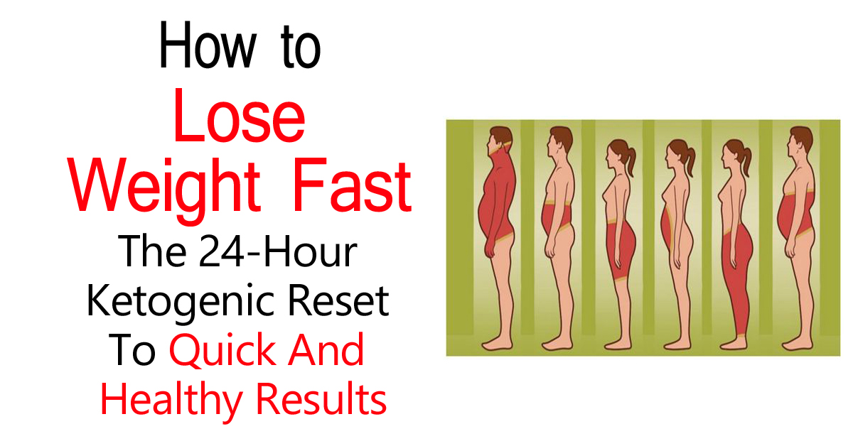 How to Lose Weight Fast: The 24-Hour Ketogenic Reset To Quick And Healthy Results