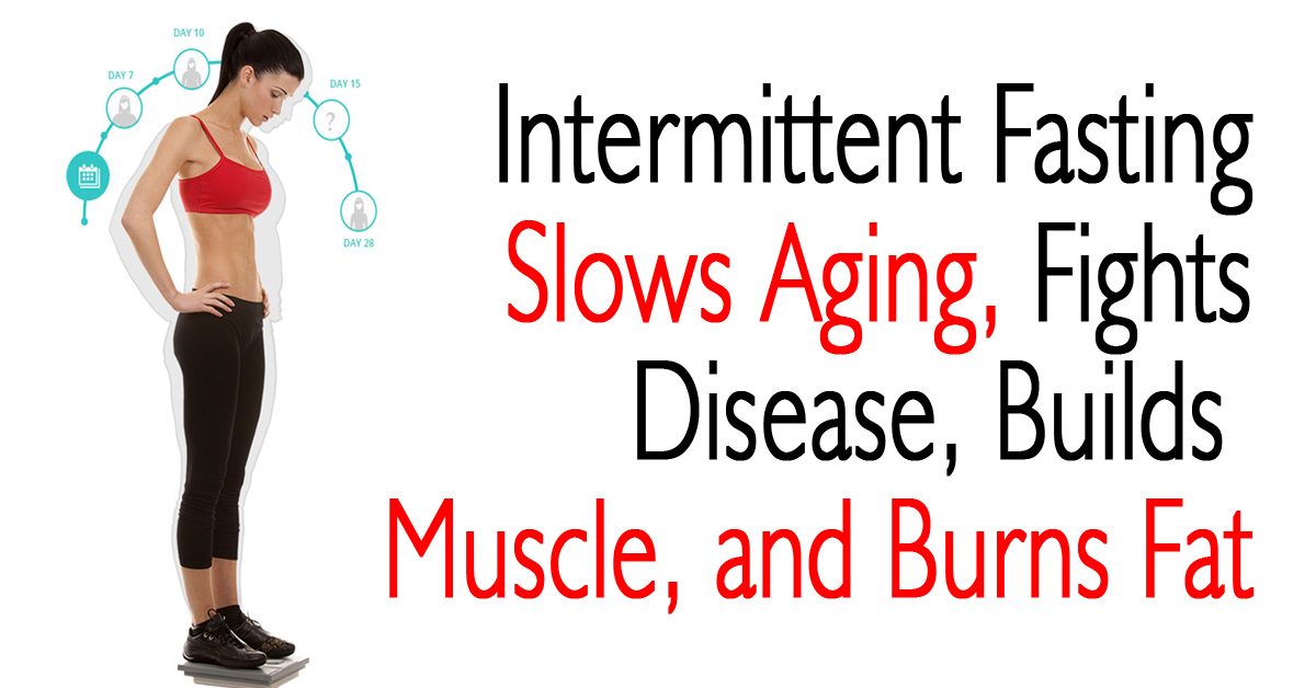 Intermittent Fasting Slows Aging, Fights Disease, Builds Muscle, and Burns Fat