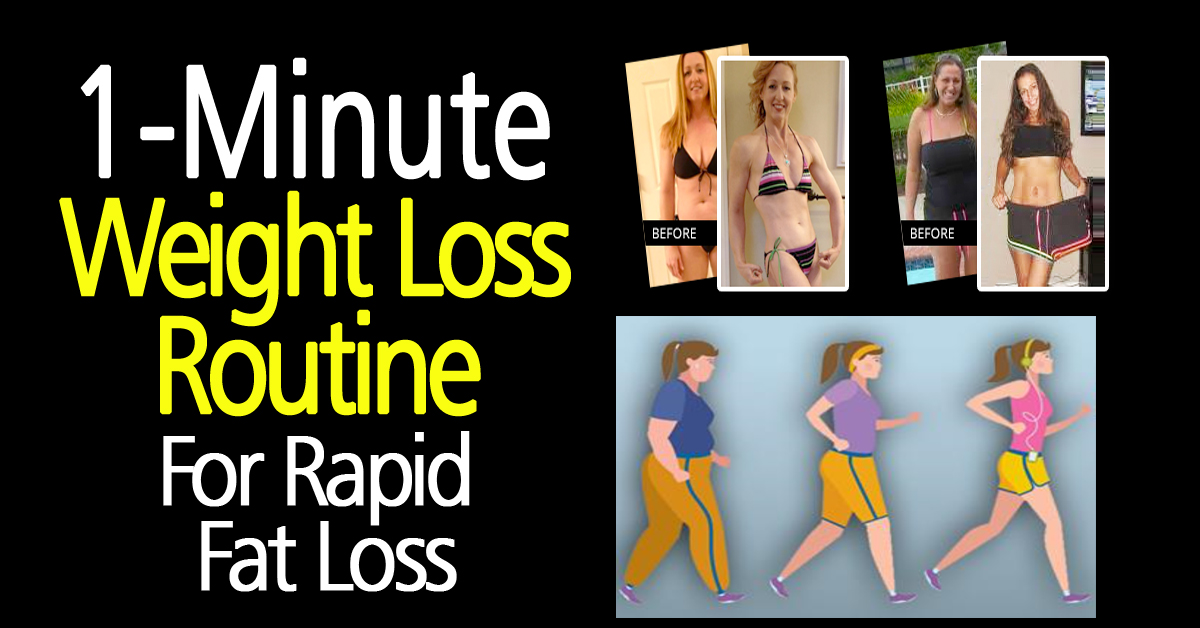 H.I.I.T., the One Minute Weight Loss Routine?