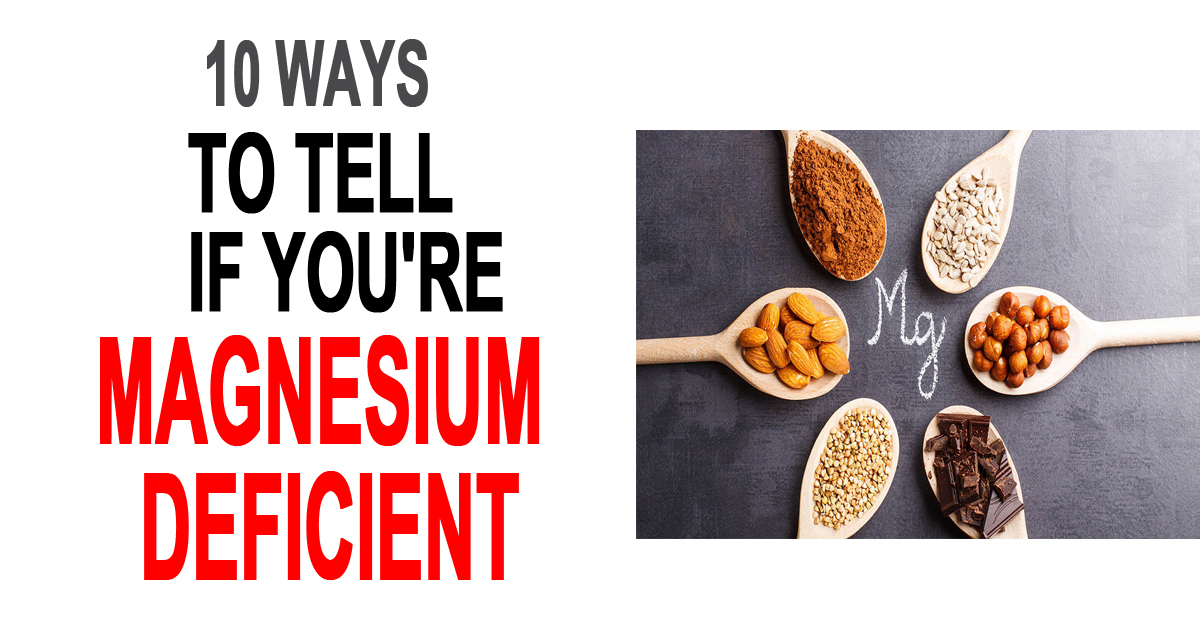 Signs You're Magnesium Deficient