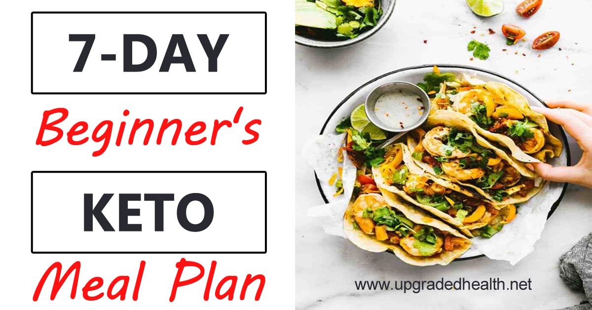 One Week Keto Meal Plan for Beginners