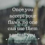 Accept YOU…