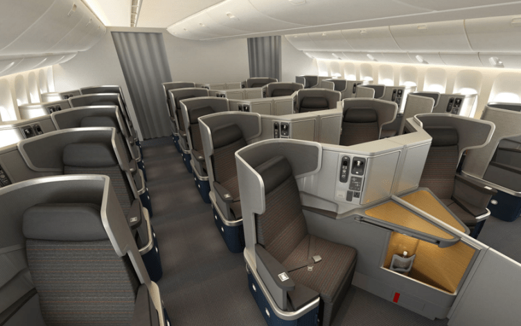Flying American Airlines in business class at pre-devaluation rates is a steal!