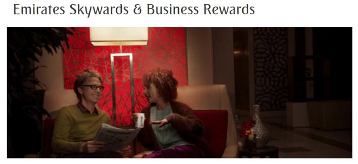 Emirates Skywards Business Rewards
