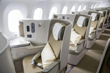 Vietnam Airlines' business class