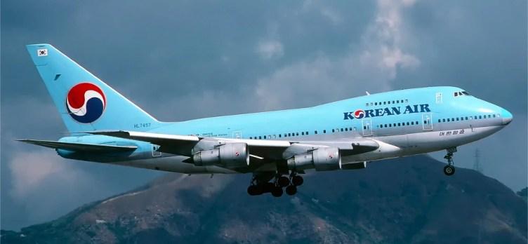 Korean Air 747