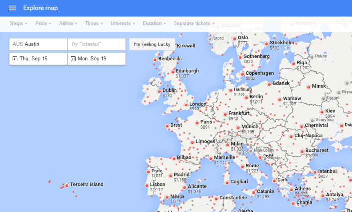 google flight explorer 2