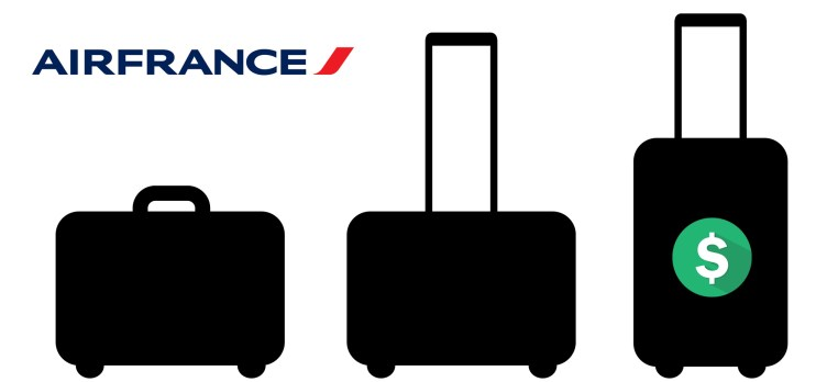 Air France baggage fees