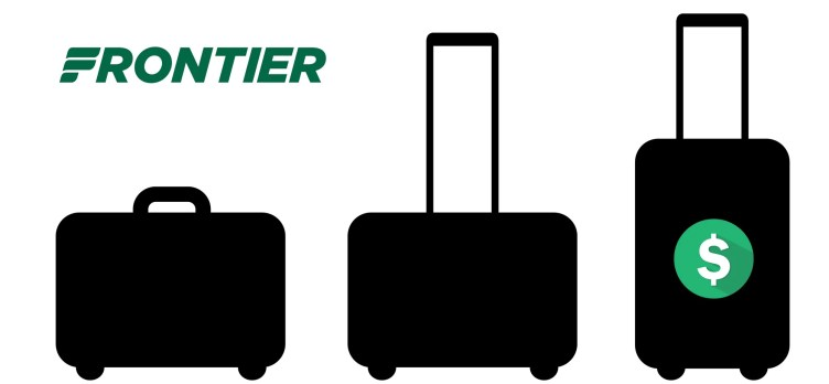 Frontier baggage fees