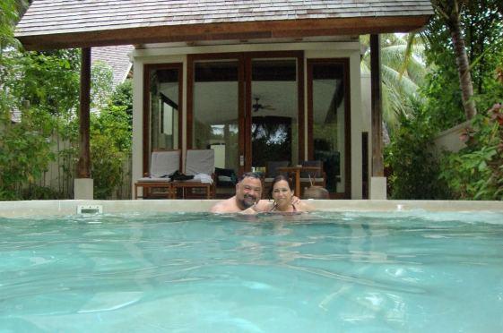Private Pool, Conrad Maldives