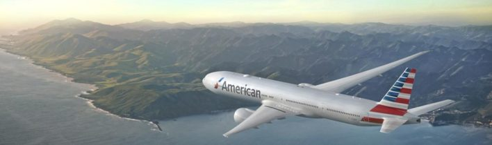 American Airlines 777 300 ER