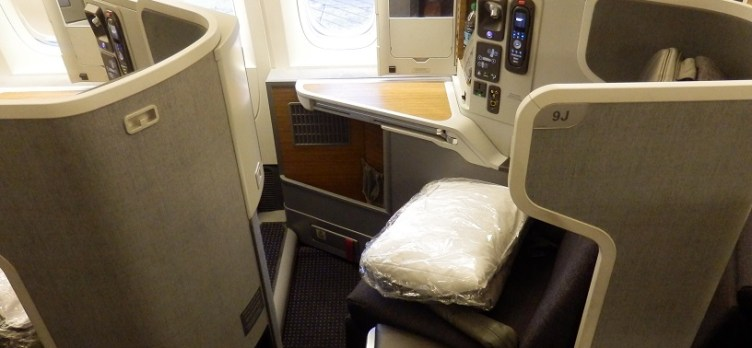 American Airlines Business Class Seat