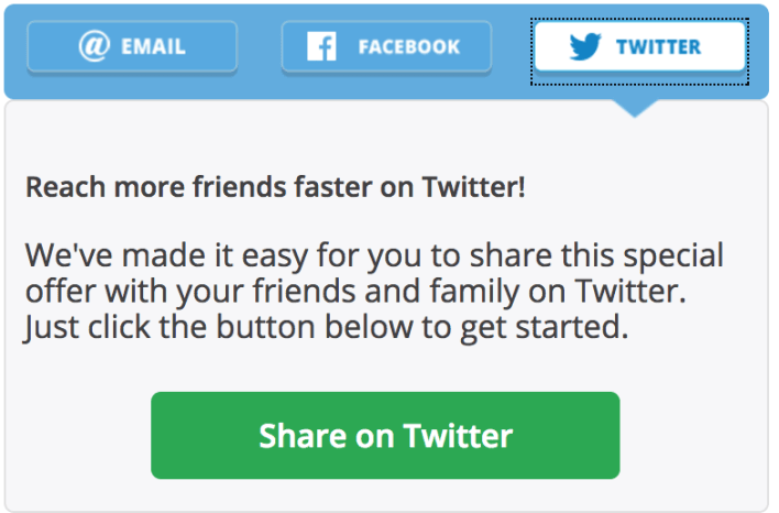 Chase Twitter Referral