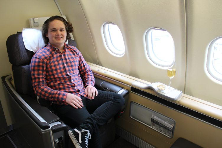 Lufthansa First Class - booked on points!