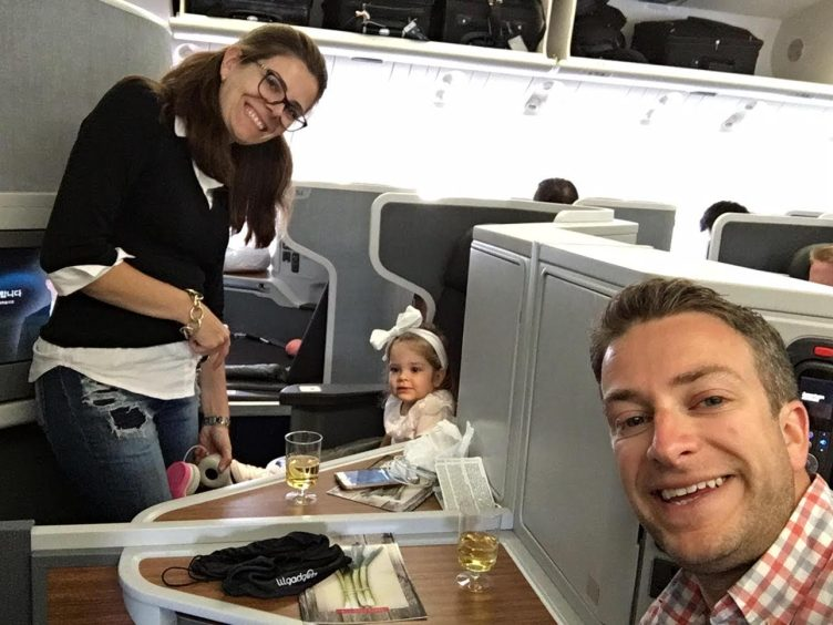 Fly Family Fly in Business Class