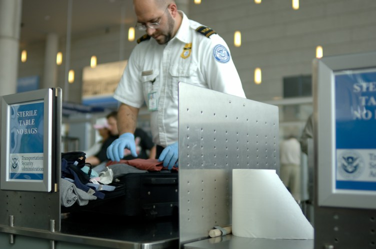 TSA Bag Search, Security