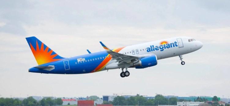 Allegiant's First Airbus Flight