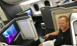 British Airways First Class 787-9 Seat View