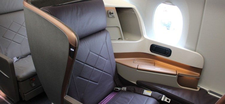 Singapore Airlines Business Class A350