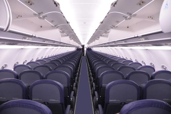 Spirit Airlines A320 Cabin Interior