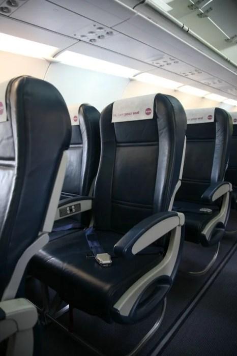 WOW air, Aircraft Interior - better seats