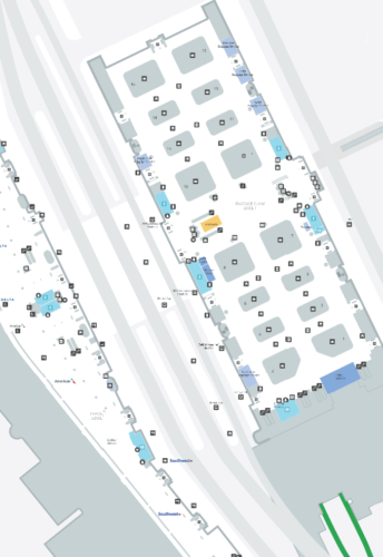 Mccarran Airport Terminal Map : mccarran, airport, terminal, McCarran, International, Airport, [LAS], Terminal, Guide, [2021]