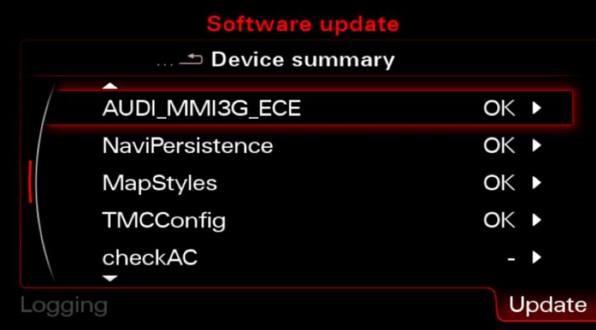 MMI 3G Updated maps