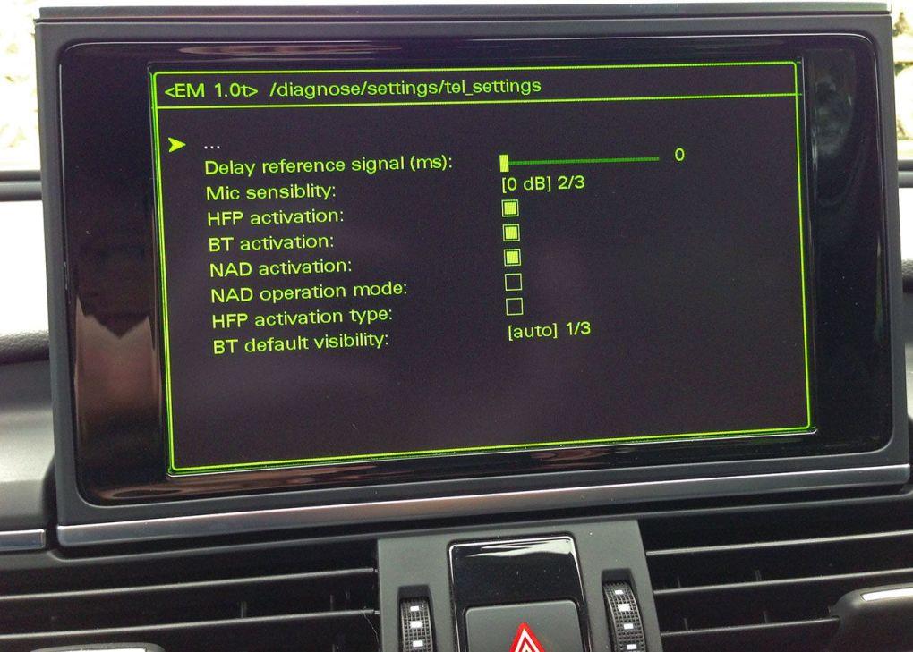 MMI 3G Plus SIM CARD for internet, bluetooth for phone calls